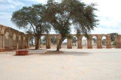 Monastery courtyard Royalty Free Stock Photo