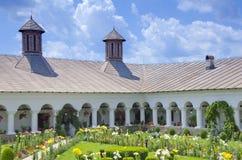 Monastery courtyard Stock Photos