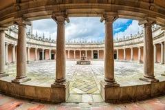 Monastery Courtyard Royalty Free Stock Photography
