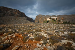 Monastery in Crete, Greece. Royalty Free Stock Photos