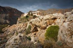 Monastery in Crete, Greece. Stock Image