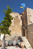 Monastery at Crete island in Greece Royalty Free Stock Photography