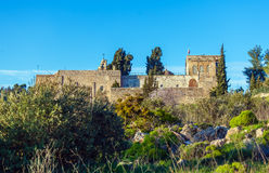 The Monastery of the Cross  Exterior, Jerusalem Royalty Free Stock Image