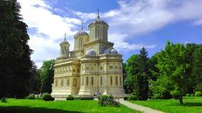 Monastery of Curtea de Arges Royalty Free Stock Photo