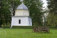 Monastery Curtea de Arges Stock Photo
