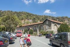 Monastery in Cyprus Stock Photo