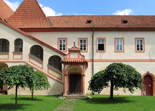 Monastery in Czech Republic Royalty Free Stock Photography