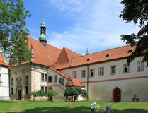 Monastery in Czech Republic Royalty Free Stock Images