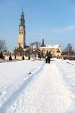 Monastery in Czestochowa Stock Photos
