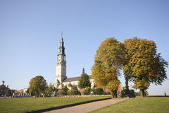 Monastery in Czestochowa Stock Images