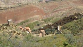 Monastery David Garedji, Kakheti; Georgia, Europe. Cave Monastery David Garedji, Kakheti; Georgia, Europe stock images