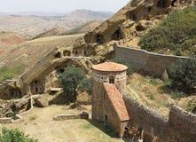 Monastery David Garedji, Kakheti; Georgia, Europe Royalty Free Stock Photo