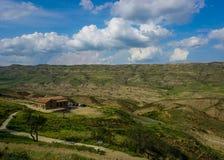 Monastery David Gareja Store View royalty free stock photos