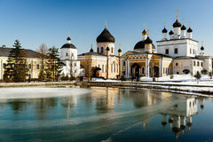 Monastery Davidov of deserts Ascension Stock Images