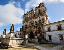 Monastery de Santa Maria, Alcobaca, Portugal Stock Photos