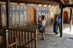 Monastery DI VARLAAM Royalty Free Stock Images