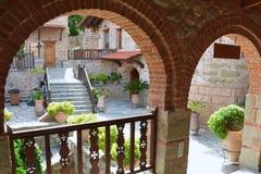 Monastery DI VARLAAM Royalty Free Stock Photos