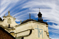 Monastery of the Discalced Carmelites in Berdichev Stock Image