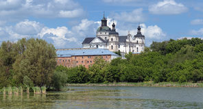 Monastery of Discalced Carmelites in Berdychiv Royalty Free Stock Photos