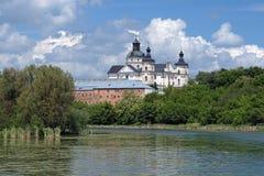 Monastery of Discalced Carmelites in Berdychiv Stock Image