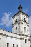 Monastery of Discalced Carmelites. Berdychiv. Monastery of Discalced Carmelites, bell tower. Berdychiv, Ukraine Royalty Free Stock Photography