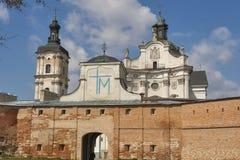 Monastery of Discalced Carmelites. Berdychiv. Monastery of Discalced Carmelites, Church of the Immaculate Conception. Berdychiv, Ukraine Royalty Free Stock Photography