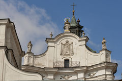 Monastery of Discalced Carmelites. Berdychiv. Monastery of Discalced Carmelites, Church of the Immaculate Conception. Berdychiv, Ukraine Stock Photos
