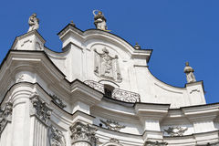 Monastery of Discalced Carmelites. Berdychiv. Royalty Free Stock Photography