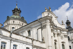 Monastery of Discalced Carmelites. Berdychiv. Monastery of Discalced Carmelites, Church of the Immaculate Conception. Berdychiv, Ukraine Stock Photography