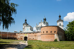 Monastery of Discalced Carmelites in Berdychiv, Ukraine. Monastery of Discalced Carmelites with Church of the Immaculate Conception in Berdychiv, Ukraine Royalty Free Stock Photography