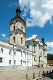 Monastery of Discalced Carmelites in Berdychiv, Ukraine. Monastery of Discalced Carmelites with Church of the Immaculate Conception in Berdychiv, Ukraine Royalty Free Stock Images