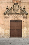 Monastery door Stock Image