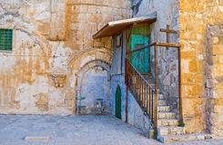 The Monastery door Royalty Free Stock Images