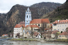 Monastery of Durnstein Stock Photography