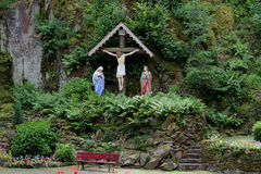 Monastery Dusenbach,  Ribeauville, Alsace, France Royalty Free Stock Photo