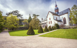 Monastery Eberbach in Eltville am Rhein im  Rheingau  Germany Stock Photo
