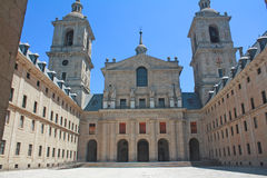 Monastery of El Escorial, Madrid. Royalty Free Stock Images