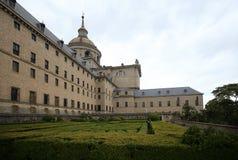 Monastery El Escorial near Madrid, Spain Stock Image