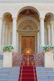 Monastery Entrance. Orthodox Monastery Entrance In Bucharest Stock Image
