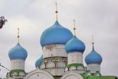 Monastery of the Epiphany in Uglich, Russia. Royalty Free Stock Photo