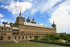 Monastery of Escorial Stock Photo