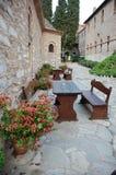 Monastery evangelistria, Skiathos Stock Image