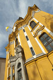Monastery facade Royalty Free Stock Photo