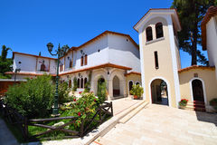 Monastery of Faneromeni on the island of Lefkada Stock Photo