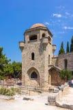 Monastery of Filerimos Stock Photo