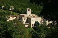 Monastery Fonte Avellana in Italy Royalty Free Stock Photography