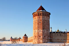 Monastery-fortress Royalty Free Stock Photography