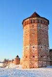 Monastery-fortress royalty free stock photos