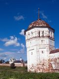 Monastery-fortress Royalty Free Stock Images