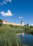 Monastery-fortress in Suzdal Stock Images